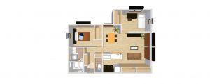 無添加住宅の賃貸 間取り図103