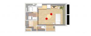 無添加住宅の賃貸 間取り図102