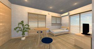 無添加住宅の賃貸 内観101号室
