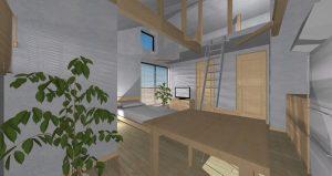 無添加住宅の賃貸 内観202号室