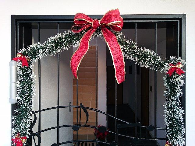オートロック クリスマス仕様